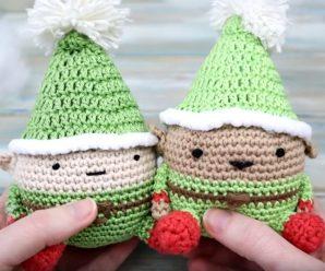 Crochet Lovely Elf Toy