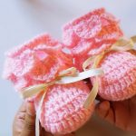 Crochet Crocodile Stitch Baby Shoes