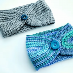Crochet Easy Headband In 20 Minutes