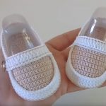 Crochet Moccasin Shoes For Baby