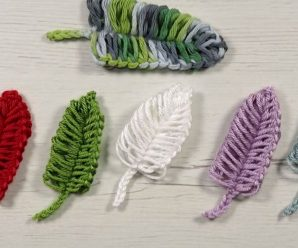 Crochet Fast And Easy Feathers