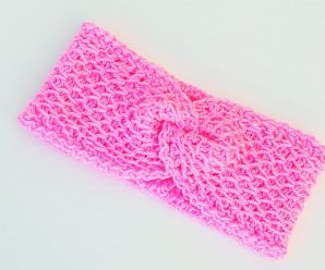 Crochet Fast And Easy Headband Video Tutorial
