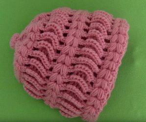 Crochet Hat With 3 D Braids