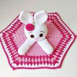 Crochet Bunny Lovey Video Tutorial