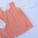 Crochet Lovely Dress For Baby