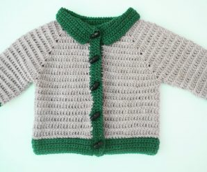 Crochet Fast And Easy Jacket for Baby