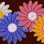 Crochet Easy Daisy Flower