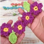 How To Crochet Flower Chain