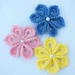 Crochet Fast And Easy Tiny Flower