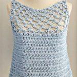 Crochet Solomon's Knot Stitch Blouse
