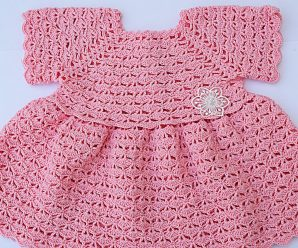 Crochet Amazing Baby Dress
