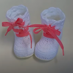 Crochet Lovely Boots For Baby Girl