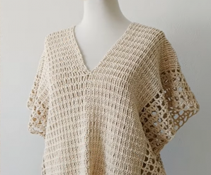 Crochet Fast And Stylish Poncho