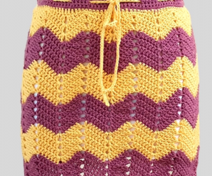 Crochet Stylish Skirt For Women
