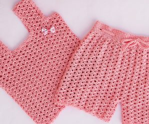 Crochet Fast And Easy Shorts For Baby