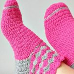 How To Crochet Fast And Comfortable Socks
