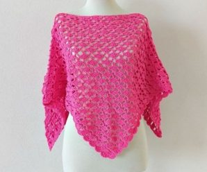 Crochet Fast And Easy Summer Poncho