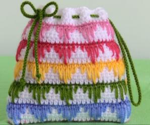 Crochet Lovely Tiny Purse Bag