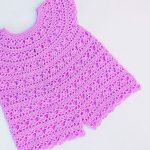 Crochet Baby Romper For Summer