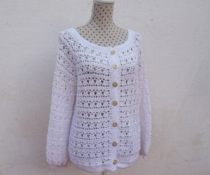 Crochet Fast And Easy Jacket For Women