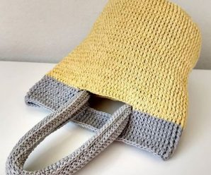 How To Crochet Simple Handbag