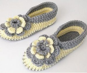 Crochet Super Easy And Comfortable Slippers