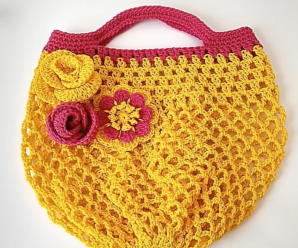 Crochet Quick And Easy Market Bag