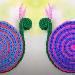 Crochet A Snail Napkin-holder