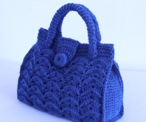 Easy Crochet Bag Video Tutorial
