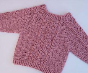 Crochet Amazing Sweater Video Tutorial