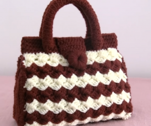 Crochet Small And Simple Handbag