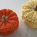 Crochet A Decorative Pumpkin Basket