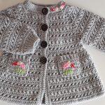 Crochet A Coat For Girls