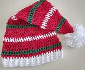 Crochet Lovely Santa Claus Hat