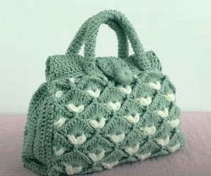 Crochet Fast And Easy Handbag