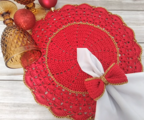 Crochet A Doily For Christmas