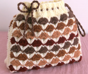 Crochet Tiny 3 D Bag Purse