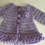 Crochet A Baby Girl Cardigan