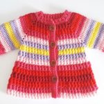 Crochet Stylish And Comfortable Cardigan For Baby