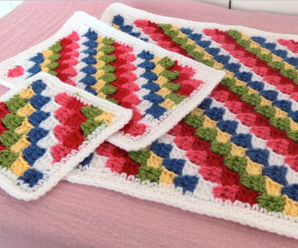Crochet Granny For Blankets And Pillows