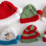 Crochet Mini Christmas Hat