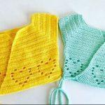 Crochet Lovely Bolero For Baby
