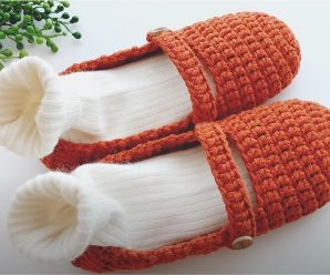 Crochet Fast And Comfortable Slippers