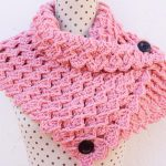 Crochet Stylish Collar Scarf
