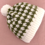 Crochet Two Colored Hat For Beginners