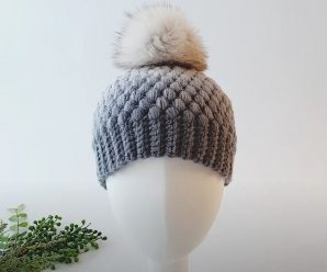 Crochet Lovely Puff Stitch Hat