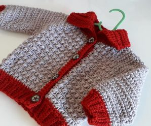 Crochet Cardigan For Baby Boys