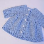 Crochet Super Beautiful Coat For Girls