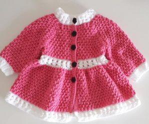 Crochet A Spring Coat For Girls