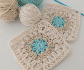 How To Crochet Super Easy Granny Square